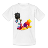 T-shirts ~ Teenager-T-shirt ~ Let out the colors, børne t-shirt