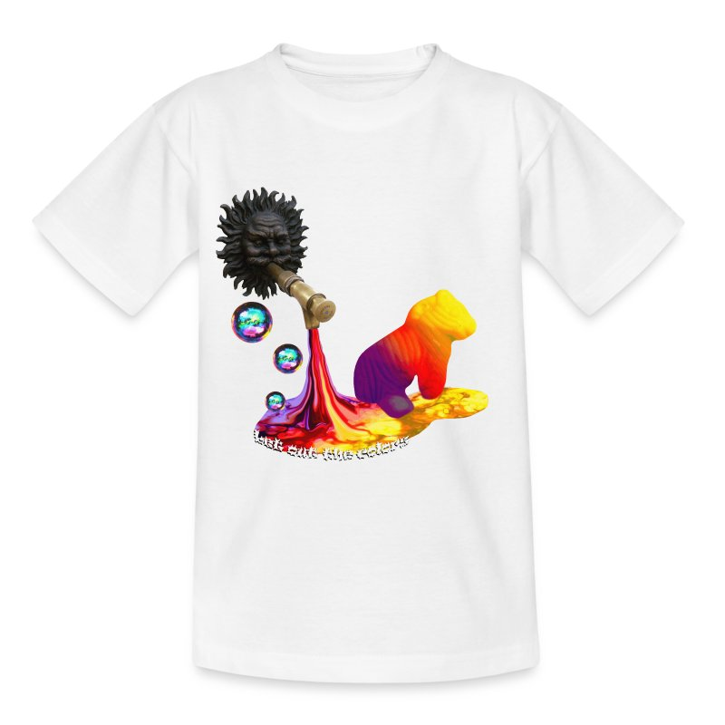 Let out the colors, børne t-shirt - Teenager-T-shirt