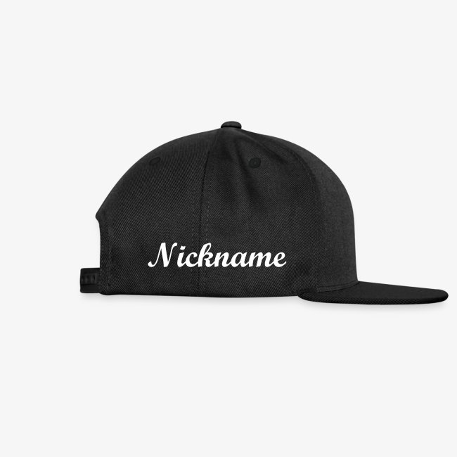 Snapback Cap Patchlogo Neutral