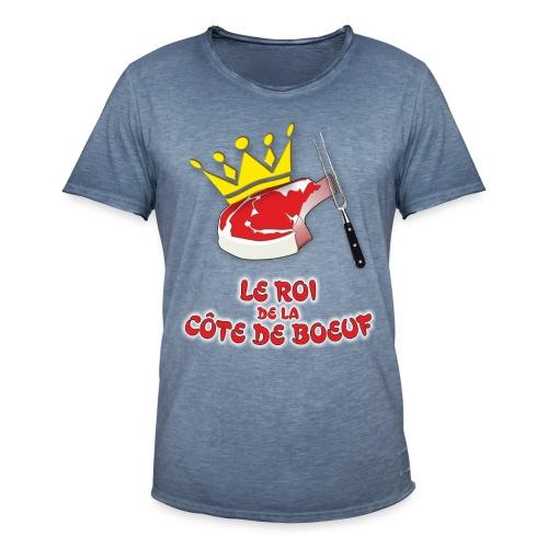 Roi Côte de Boeuf TS Vintage H - T-shirt vintage Homme