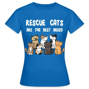 Rescue Cats Are The Best Breed - Women's Tee - Women's T-Shirt
