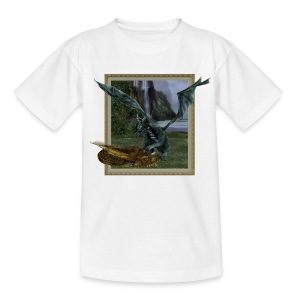 Twee Drakenjongen - Teenager T-shirt