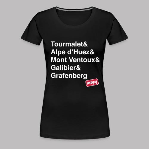 T-Shirt wm Les Cols  - Frauen Premium T-Shirt