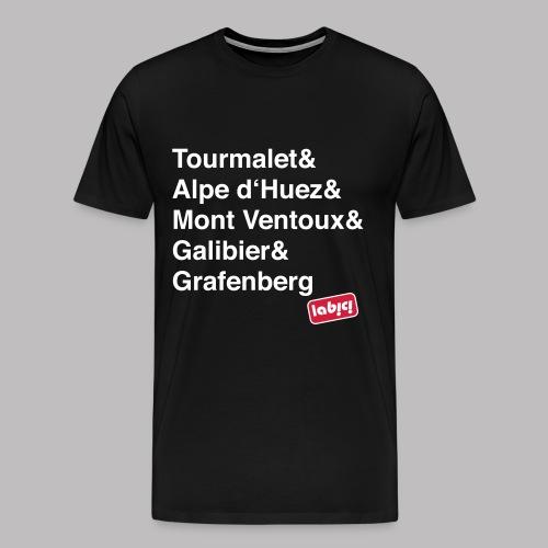 T-Shirt Les Cols - Männer Premium T-Shirt