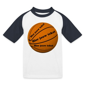 Basketbal - Kinderen baseball T-shirt