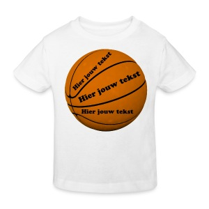 Basketbal - Kinderen Bio-T-shirt