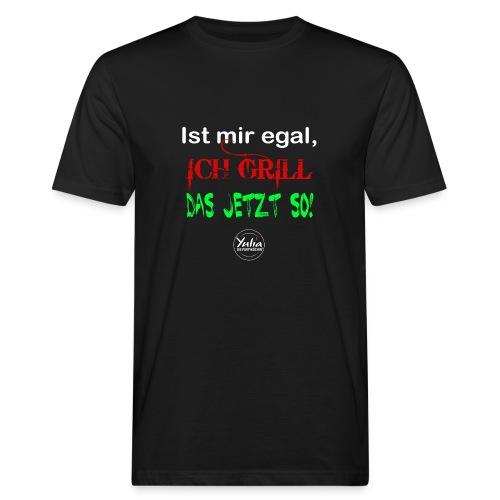 Mir egal - Männer Bio-T-Shirt