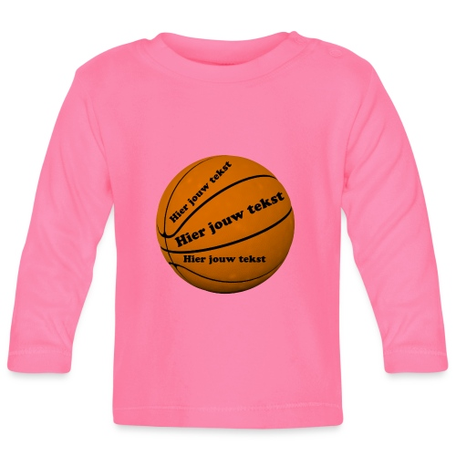 Basketbal - Baby Long Sleeve T-Shirt