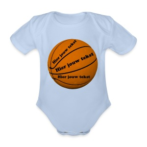 Basketbal - Organic Short-sleeved Baby Bodysuit