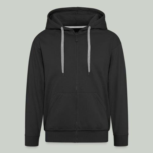 Zipper-Jacke für Herren - Männer Premium Kapuzenjacke