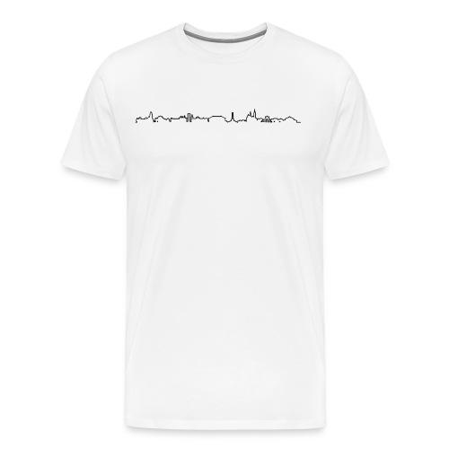 Pankow-Shirt Weiss - Männer Premium T-Shirt