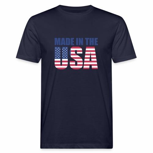 Made in the USA - Männer Bio-T-Shirt