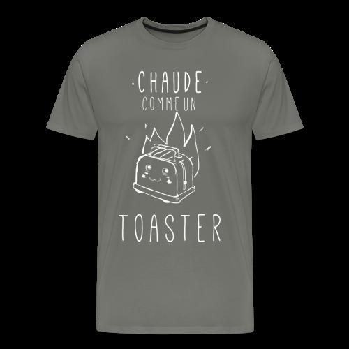 Chaude comme un toaster - T-shirt Premium Homme