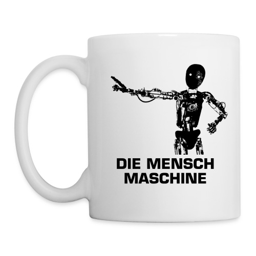 Man Machine MUG - Tazza
