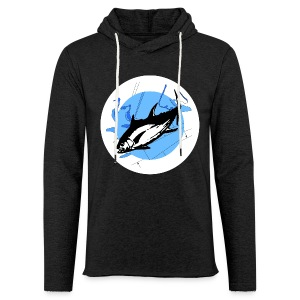 Hoodie-shirt Deep Mission Front-logo & plain text back NEW!  - Light Unisex Sweatshirt Hoodie