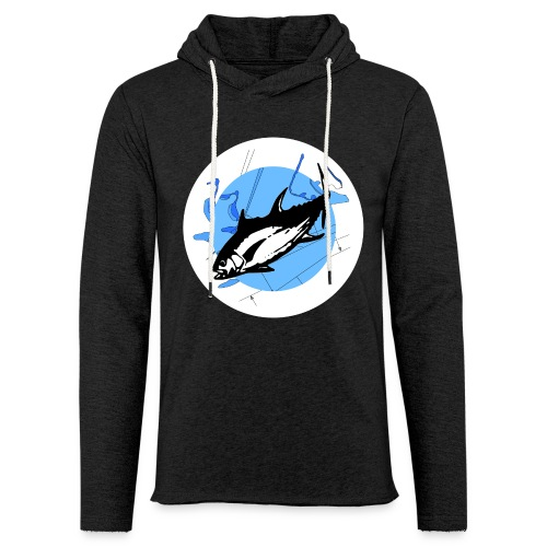 Hoodie-shirt Deep Mission Front-logo & plain text back NEW!  - Light Unisex Sweatshirt Hoodie
