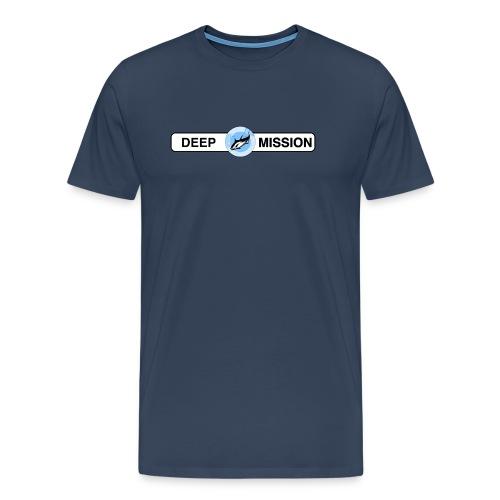 T-Shirt  *any colour* Deep Mission Front-Slogan 2 NEW [Tipp] - Men's Premium T-Shirt