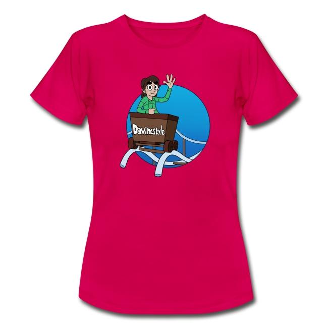Achtbaan Logo Shirt (VROUW)