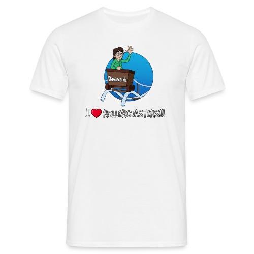 I Love Rollercoasters!!! - Shirt (MAN) - Mannen T-shirt