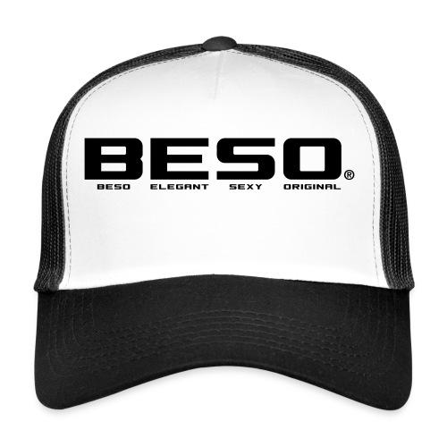 B-E-S-O Casquette Trucker Cap blanc/noir - Trucker Cap