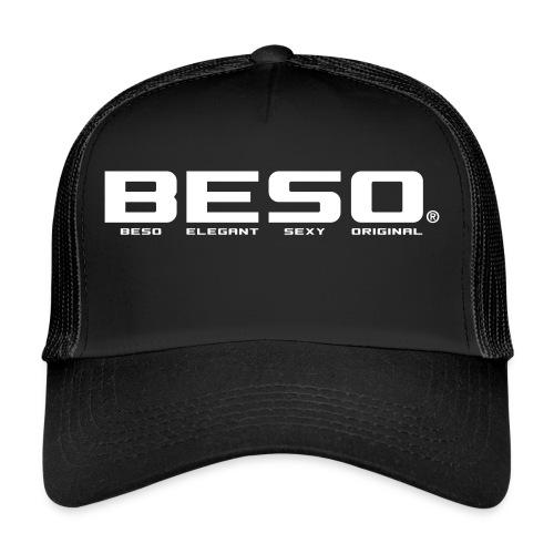 B-E-S-O Casquette Trucker Cap noir/blanc - Trucker Cap