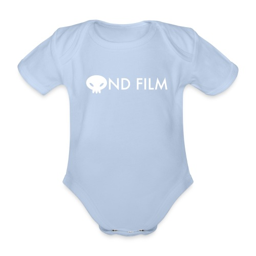 Ond Film Text Baby - Organic Short-sleeved Baby Bodysuit