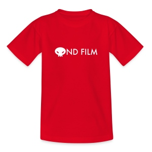 Ond Film Text Kid - Teenage T-shirt