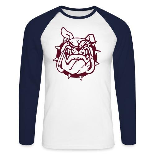 Celtic Bulldogs Rampage Team Baseball Shirt navy-weiß - Männer Baseballshirt langarm