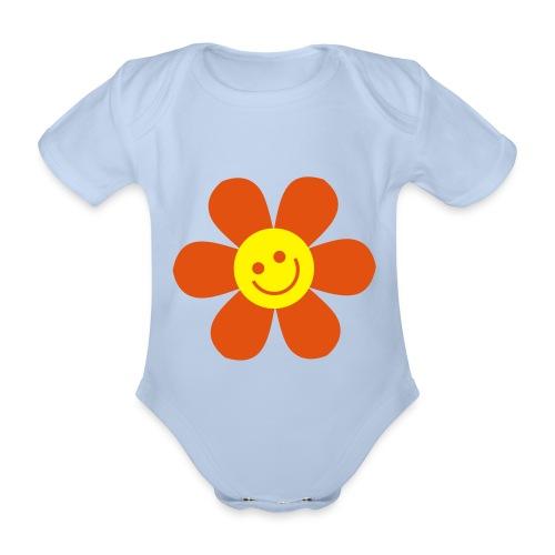 lilla solstrålen - Ekologisk kortärmad babybody
