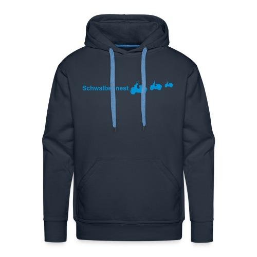 Sweatshirt mit Schwalbennest-Logo - Männer Premium Hoodie