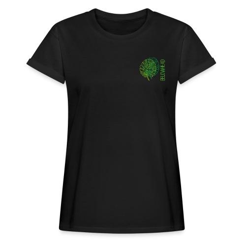 lightning - Frauen Oversize T-Shirt