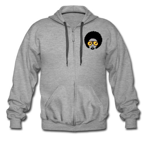 Qafro hooded jacket - Men's Premium Hooded Jacket