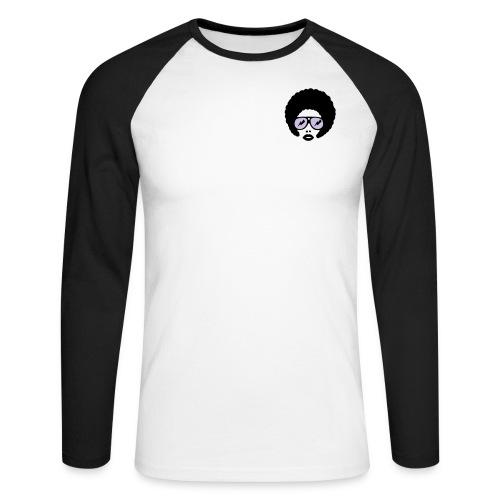 Qafro long sleeve - Men's Long Sleeve Baseball T-Shirt