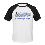 Tee shirts ~ Tee shirt baseball manches courtes Homme ~ Vent du large 4