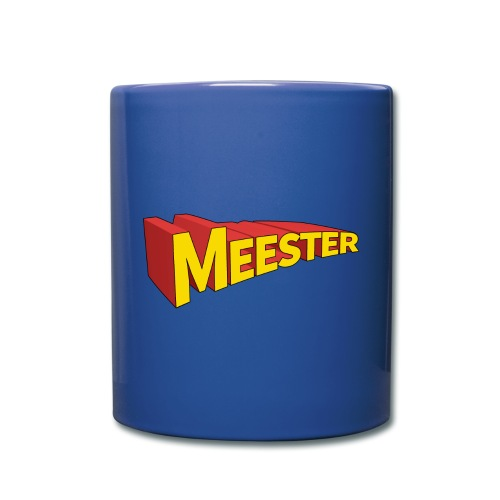 Meester is een held - mok - Mok uni