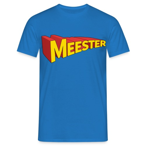 meester-held.png - Mannen T-shirt