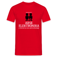 T-Shirts ~ Men's T-Shirt ~ arse elektronika