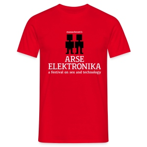 arse elektronika - Men's T-Shirt