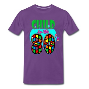 Child in the 80's - T-shirt Premium Homme