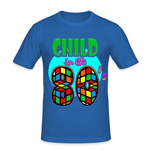 Child in the 80's - Tee shirt près du corps Homme
