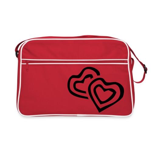 Herztasche - Retro Tasche