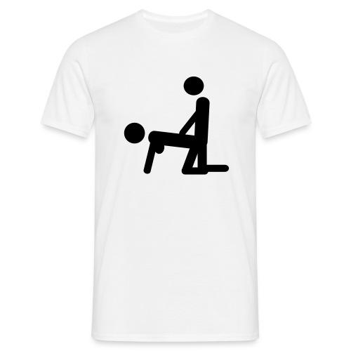 Bend Over - Men's T-Shirt