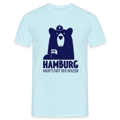 HH – Hauptstadt der Herzen - Männer T-Shirt