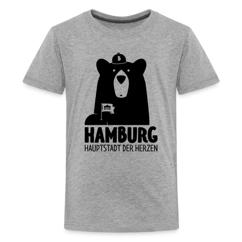 HH – Hauptstadt der Herzen - Teenager Premium T-Shirt