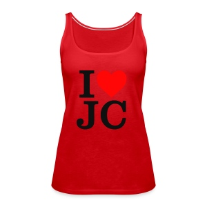 Women's I Heart JC t-shirt - Women's Premium Tank Top