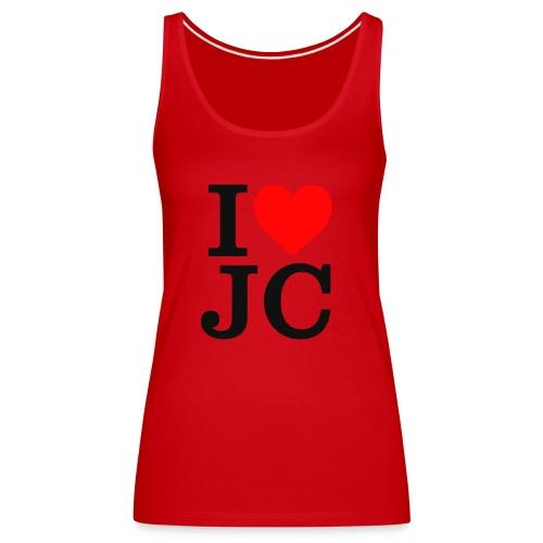 Women's I Heart JC t-shirt - Women's Premium Tank Top