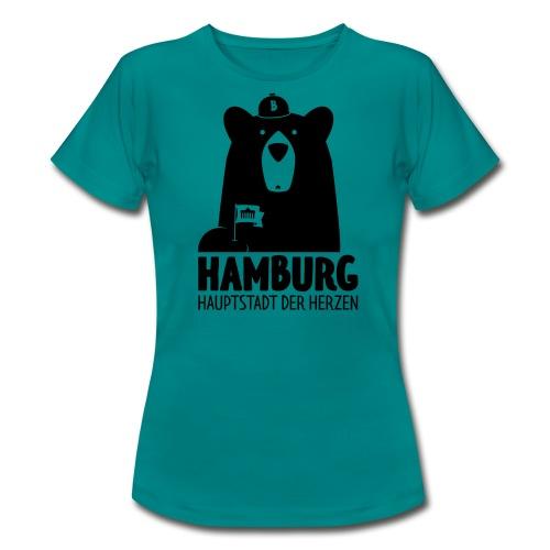 HH – Hauptstadt der Herzen - Frauen T-Shirt