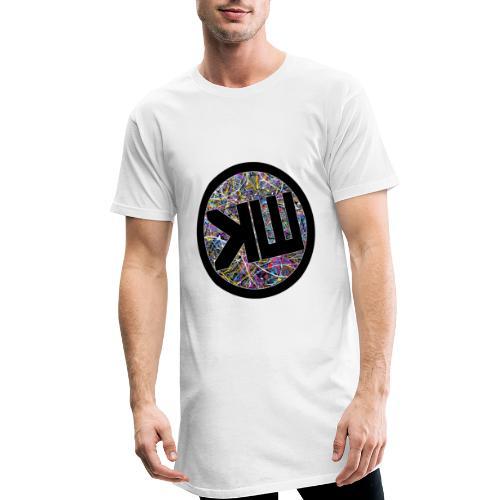 Long T-SHirt White KW21 - T-shirt long Homme