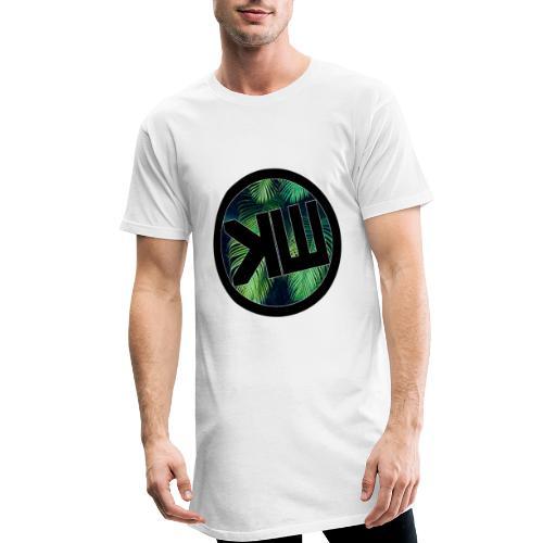 Long T-SHirt White KW24 - T-shirt long Homme