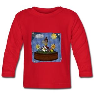 Zonnebloem Toon Baby - Baby Long Sleeve T-Shirt